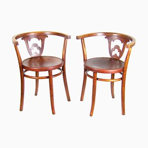 Armchairs from Thonet, 1920s, Set of 2
