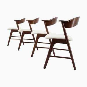 Palisander Dining Chairs, Set of 4