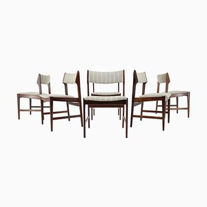 Solid Palisander Dining Chairs by Erich Buch, 1960s, Set of 6