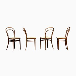 Model 214 Vienna Coffee House Stool from Thonet