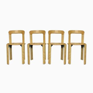 Dining Chairs by Bruno Rey for Kusch + Co., 1970s, Set of 4