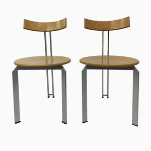 Mid-Century Zeta Dining Chairs from Harvink, 1980s, Set of 2