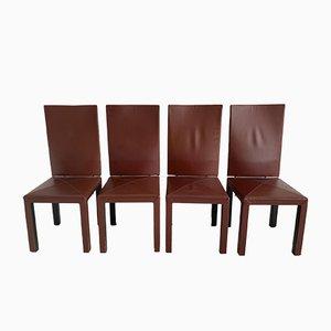 Postmoderne Arcadia Stühle von Paolo Piva für B & B Italia, 4er Set