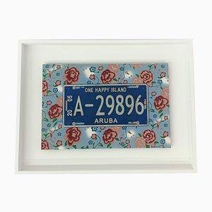 Aruba Nummernschild von Jan Henderikse