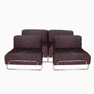 Italian Modular Four-Seater Sofa, 1970s