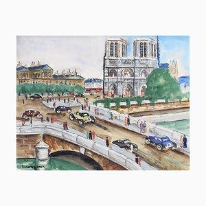 Lucien Genin, Notre Dame De Paris, 1930er