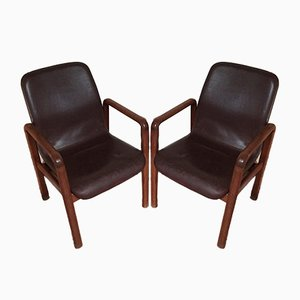 Scandinavian Armchairs from Dyrlund, Set of 2