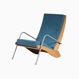 Kangaroo Lounge Chair by Jean Prouvé, 1990s