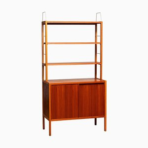 Brass Bookcase by Bertil Fridhagen for Bodafors, 1950s
