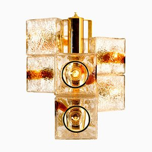 Cube Murano Glass Chandelier from VeArt, Italy, 1970s
