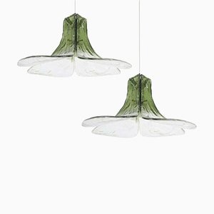 Model LS185 Pendant Lamps by Carlo Nason for Mazzega