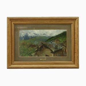 Aroldo Soldini, Country Glimpse, Canvas
