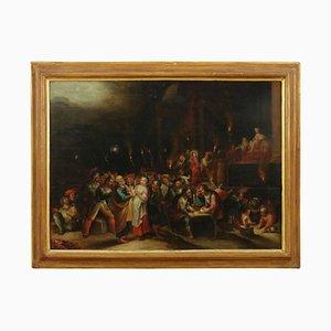 Hieronymus III Francken, the Denial of Peter, Canvas