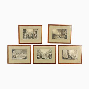 Drawings on Canvas by Giovanni Antonio Sasso