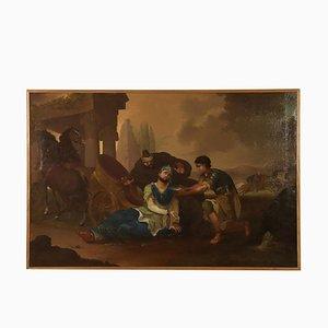 Re Darius Death Oil su tela, fine XIX secolo