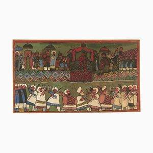 La regina di Saba incontra il re Solomon Canvas