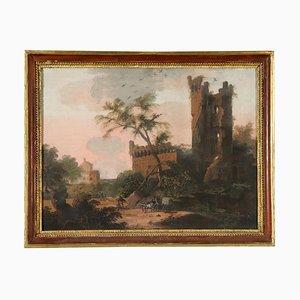 Pittura Allegoria della primavera Tempera a bordo, fine XVIII secolo