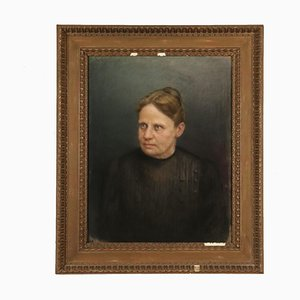 Giovan Battista Garberini, Portrait of Woman, 19th Century, Pastel