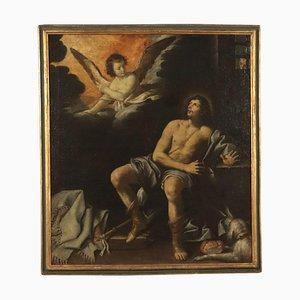 Oggetto di Lorenzo Lippi, olio su tela, XVII secolo