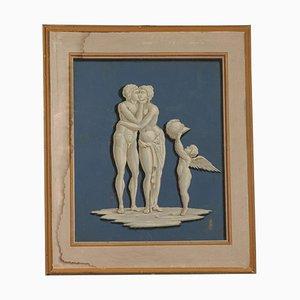 Elemento decorativo neoclassico Ares e Venere, XVIII secolo