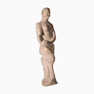 Statua in marmo di un fauno, Italia, XVII secolo