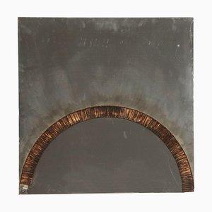Bernard Aubertin, Contemporary Art Applikation auf Metallkarton