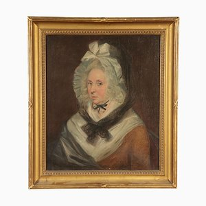 Frauenporträt, Öl auf Leinwand, 19. Jahrhundert