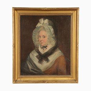 Ritratto di signora, olio su tela, XIX secolo