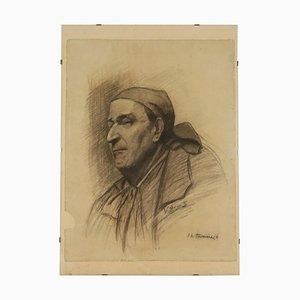 il tesoriere, disegno su carta, XX secolo