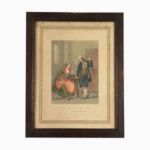 Radierung, 18. Jahrhundert