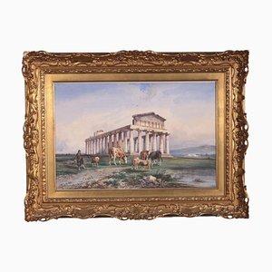Consalvo Carelli, 19th Century, Watercolor on Paper