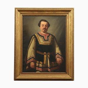 Achille Zo, olio su tela, XIX secolo