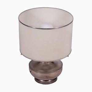 Versilberte Metall und Methacrylat Lampe, Italien, 1960er