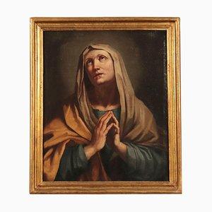 Vergine in lutto, olio su tela, XVIII secolo