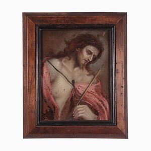 Ecce Homo, Early 18th Century, Underglass Painting