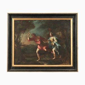Scena mitologica, olio su tela, XVII secolo