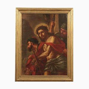 Ecce Homo, olio su tela, XVII secolo