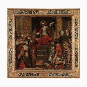 Santa Maria Maddalena ascolta Cristo, pelle, 1500