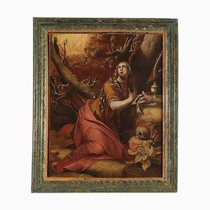 Büßende Magdalena, Öl auf Leinwand, 17. Jahrhundert