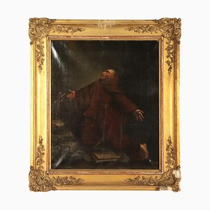 Heiliger Franziskus in Ekstase, Öl auf Leinwand, 1847