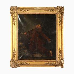 Saint Francis in Ecstasy, Oil on Canvas, 1847