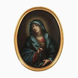 Painful Virgin Mary, Oil on Canvas, 18th Century