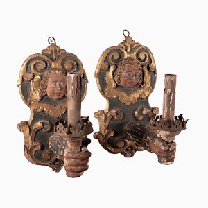 Candleholders, Italy, 17th Century, Set of 2