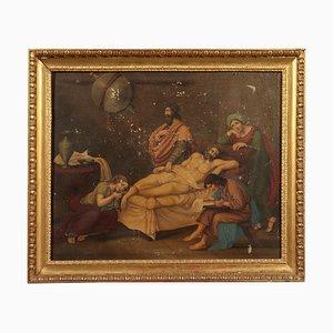 La morte di Seneca, olio su tela, XIX secolo