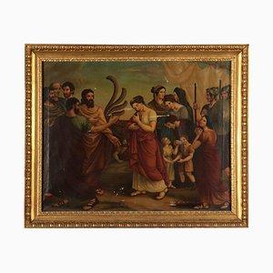 Agrippina con cenere di Germanicus, olio su tela, XVIII secolo