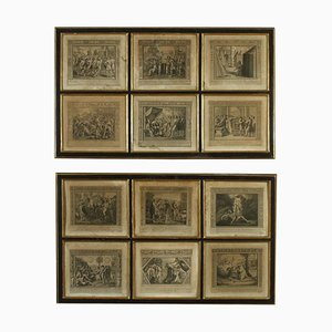 Series of Etchings, Biblical Subject, Early 19th Century, Set of 2
