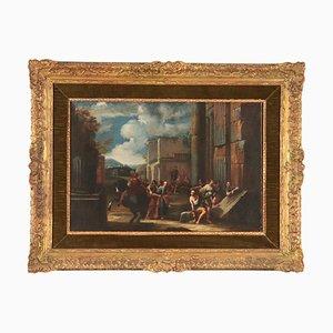 Oggetto di Giovanni Ghisolfi, olio su tela, XVII secolo