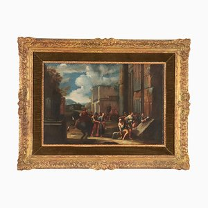 Umfang von Giovanni Ghisolfi, Öl auf Leinwand, 17. Jahrhundert