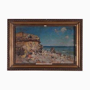 Attributed to Baldomero Galofre, Oil on Panel, 19th Century
