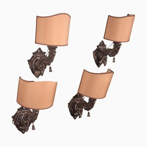 Barocchetto Wall Lights, Italy, 18th Century, Set of 4